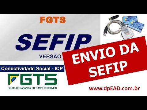 Envio da SEFIP - Conectividade Social