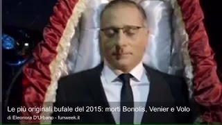 Le più originali bufale del 2015: morti Bonolis, Venier e Volo