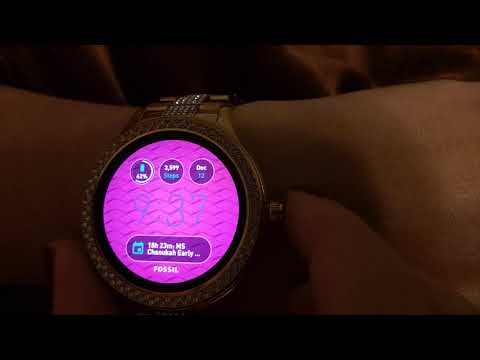 Fossil Q Venture Smartwatch hands on review