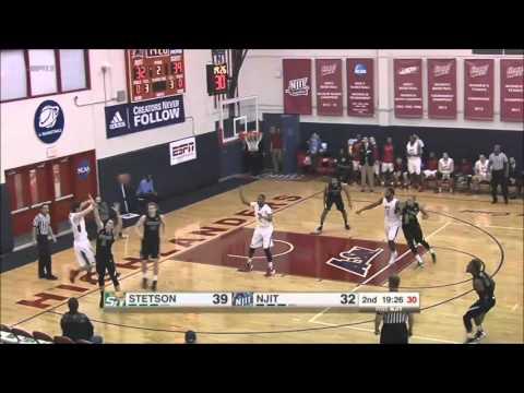 NJIT vs. Stetson Basketball Highlights