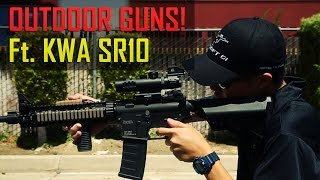 How To Build An Outdoor Gun - Tips And Tricks Feat. Kwa Sr10 Aeg - Airsoft Gi