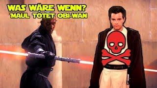 WAS WÄRE WENN...? Darth Maul tötet Obi-Wan