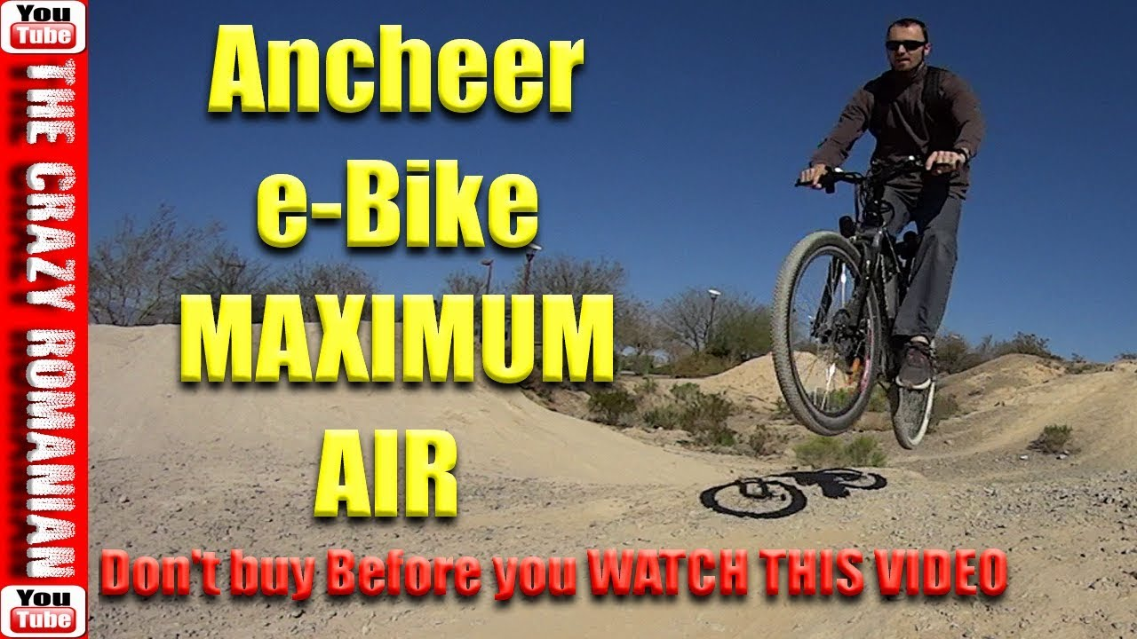 f2b47784fd6 Don't Buy the ANCHEER e-Bike before you watch this video! - YouTube