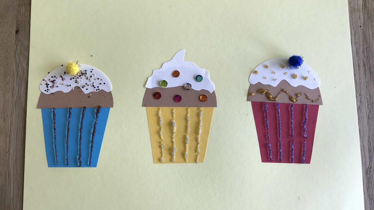 открытки как сделать кекс