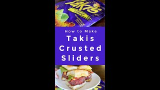 How to Make a Takis Crusted Sliders...