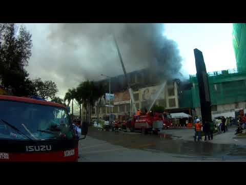 HUGE AYALA MALL FIRE, Cebu City, Philippines
