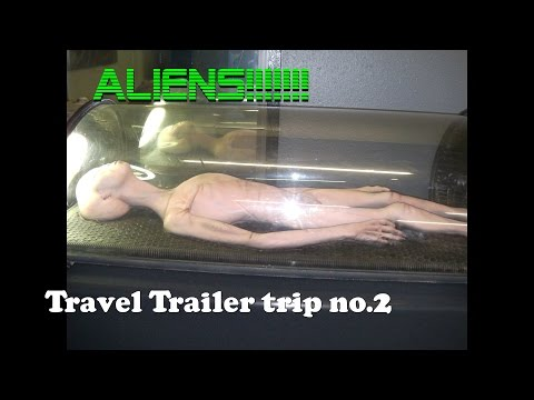 RV Camping Roswell, New Mexico Aliens built this city...