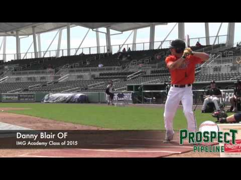 Danny Blair Prospect Video, OF, IMG Academy Class of 2015