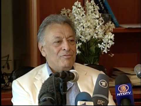 Press conference with Zubin Mehta - July 2010