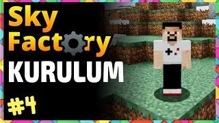 Sky Factory Kurulum, ATLuncher ve Technic Launcher - Minecraft Öğreniyoruz - Bölüm 4