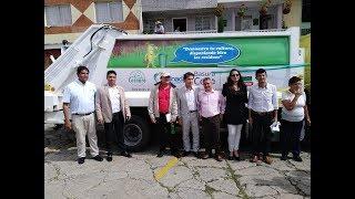 Granada ya tiene vehículo compactador para la recolección de residuos sólidos