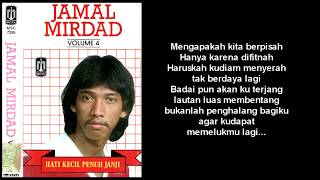 Gambar cover Jamal Mirdad - Membuka Lembaran Lama (Lirik)