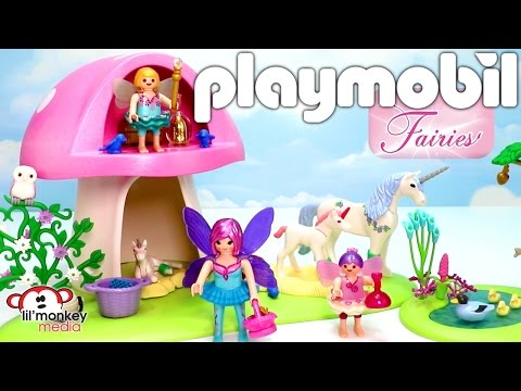 Playmobil Fairies! 9 Playsets | Fairy Club, Fairy Queen Ship, Toadstool House and More!