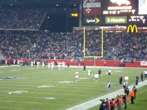 Broncos Enter Gillette Stadium