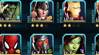 Marvel Avengers Alliance 2 - All Characters!