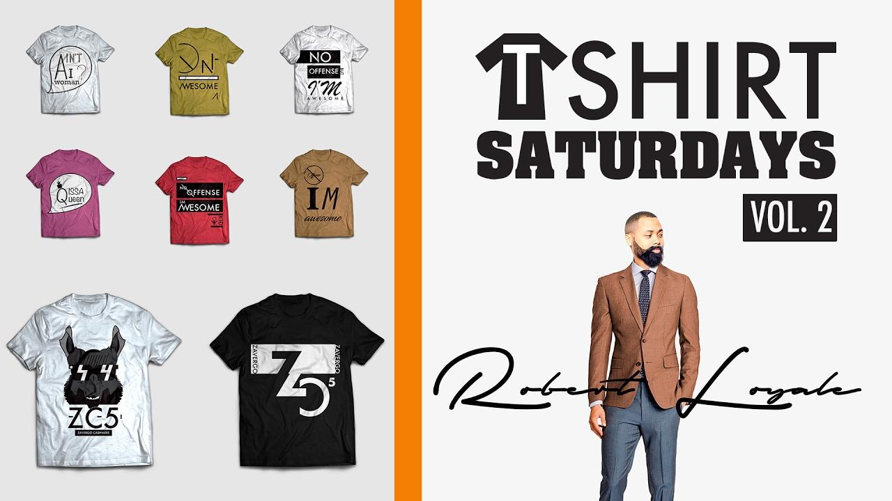 T Shirt Design Saturdays 2 How I Get Inspiration For T Shirt