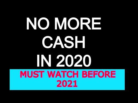 NO MORE CASH IN 2020-SHOULD WATCH before 2021||Prophet Sadhu Sundar Selvaraj|