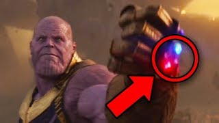 Avengers Infinity War - THANOS INFINITY STONE Attacks Explained!