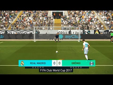 PES 2018 | REAL MADRID vs GREMIO | Final FIFA Club World Cup | Penalty Shootout | Gameplay PC
