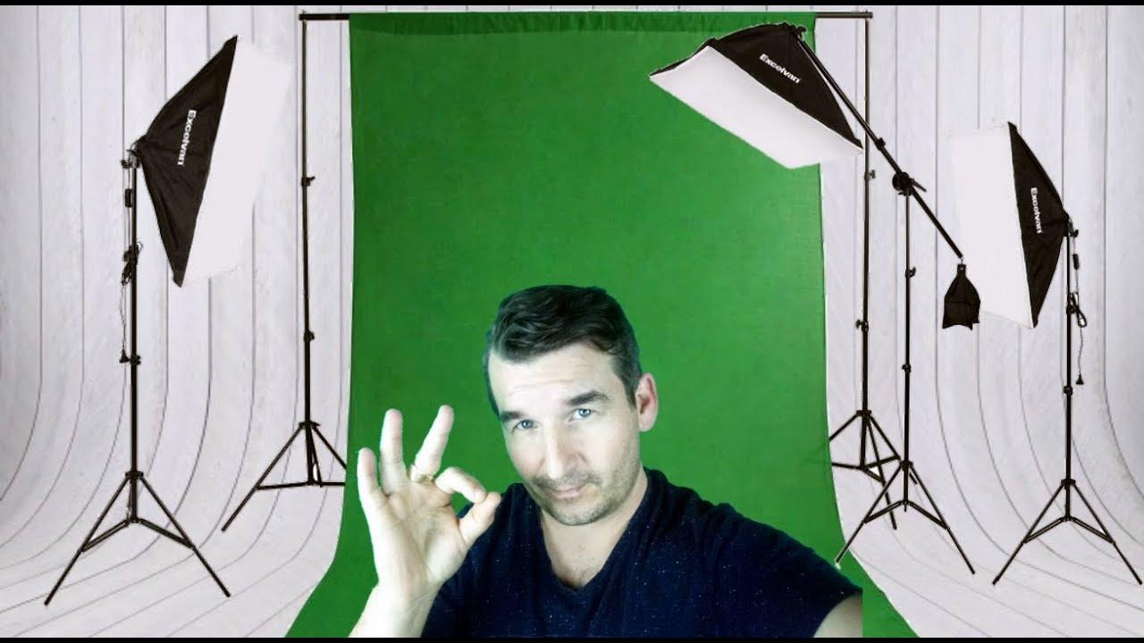 Kit Eclairage Studio Photo Video Excelvan Youtube