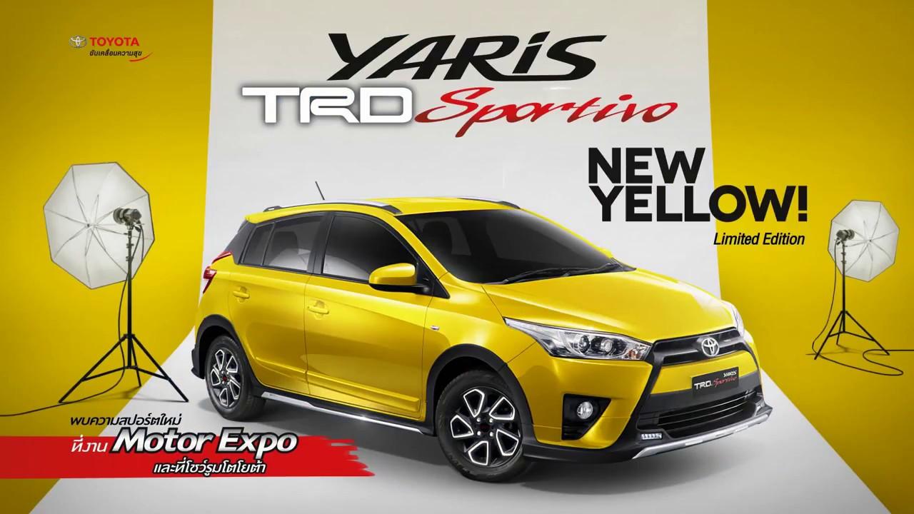 Toyota Yaris Trd Limited Pilihan Warna Grand New Avanza 2018 Sportivo Yellow Edition Youtube