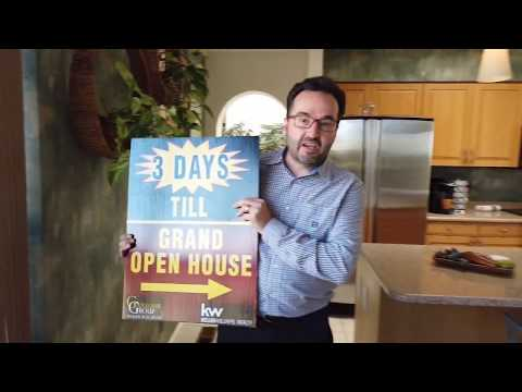 3 Day Countdown For Grand Open House For 1146 Marigold Drive, Albuquerque
