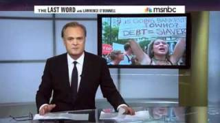 The msnbc video Rewriting Occupy Wall Street protests Lawrence O'Donnell The Last Word