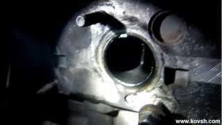 Как определить почему двигатель берёт масло и дымит.(Сайт СТО