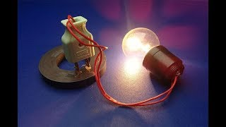 Amazing Free Energy Device Using Light Bulb With Magnets