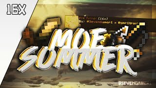 Moe Summer Release [16x] Texture Pack PvP [Minecraft Pocket Edition 1.5]