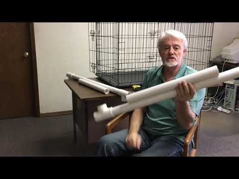 Whelping Box Rail Installation   Keep Puppies Safe