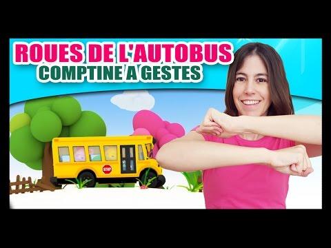 Les Roues De L'autobus - Comptine à Gestes Pour Bébés - Méli Et Touni