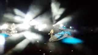 Anastacia Back in Black Live Roma 11/01/2015