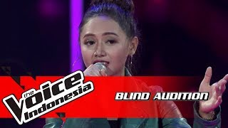 Almira - Scared To Be Lonely | Blind Auditions | The Voice Indonesia GTV 2018