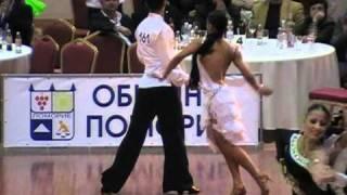 Ballroom Dance Competition Samba - Todor Kondov & Snejana Slavova - Pomorie 2011