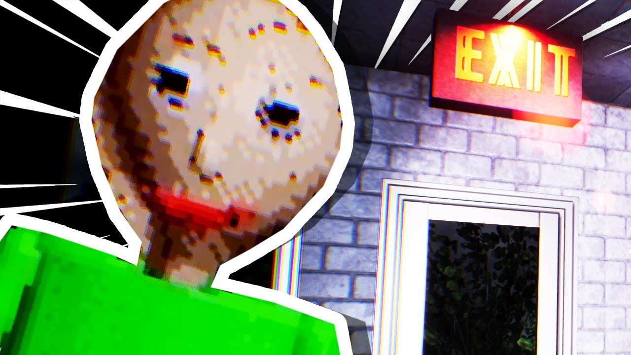 REALISTIC BALDI!!!  ** scary warning **