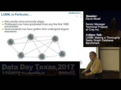 David Mizell - LEBM: Making a Thoroughly Nasty Graph Database Benchmark