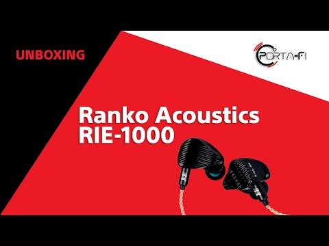 Ranko Acoustics RIE-1000 Unboxing   Porta-Fi™