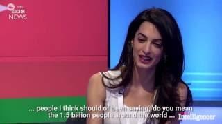 Amal Clooney on Donald Trump