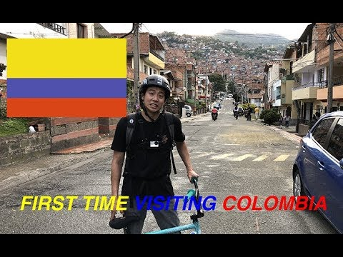 FIRST TIME IN COLOMBIA | BMX In Medellin, Antioquia