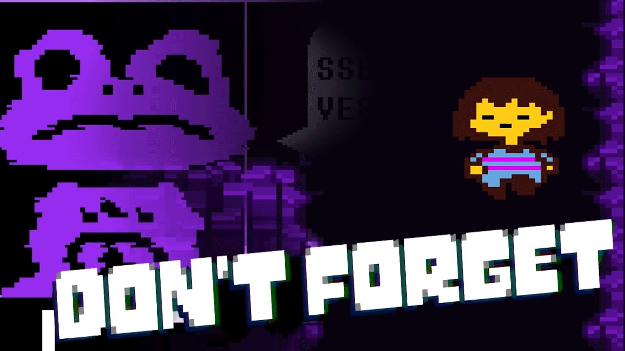 Into The Void Dont Forget 2 Undertale Sequel Fan Game