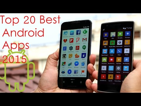 Top 20 Best Android Apps 2015