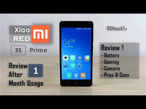 Xiaomi Redmi 3s Prime Full Review After 1 Month Usage | Battery, Gaming, Camera, Pros and Cons