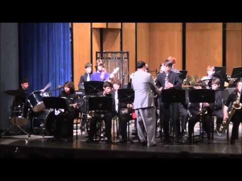 2013 Paul Breaux Middle School Jazz Band 05.16.2013