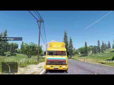 Перевозка Списанного Вагона - Дальнобойщики в GTA 5