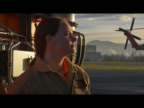 Natalie Jones, Helicopter pilot for Erickson, Inc.