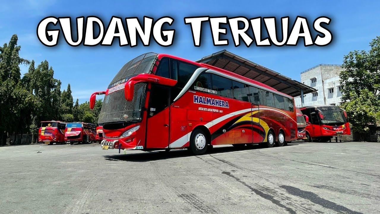 Download Luas Banget Gudang Bus Makmur    Semuanya Lengkap Digudang Ini