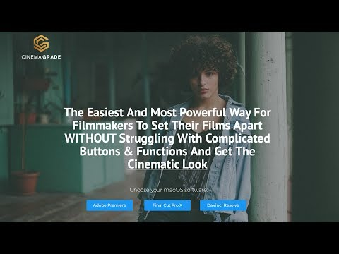 CINEMA GRADE REVIEW - YouTube