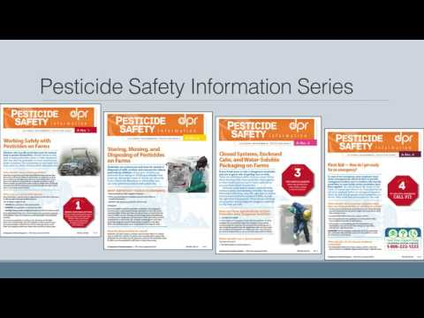 Yolo County 2016 Pesticide Use and Regulation Updates