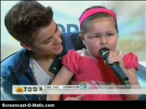 Justin Bieber and Avalanna (Mrs Bieber) - Today Show - YouTube